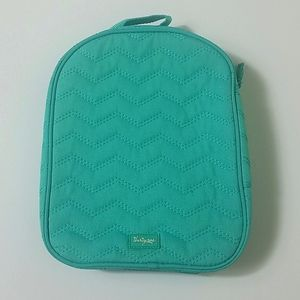 Thirty-One green insulated handle lunch bag